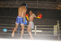 Muay Thai boxing match