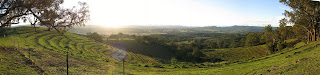 The view from top of the hill at Kingbilli Country Estates