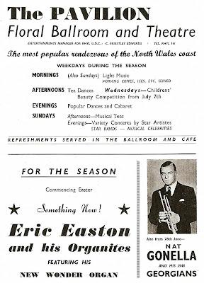 Pavilion, Eric Easton, Nat Gonella