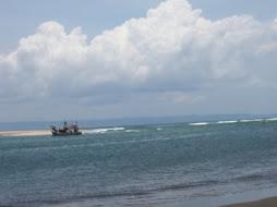suasana palawangan laut selatan