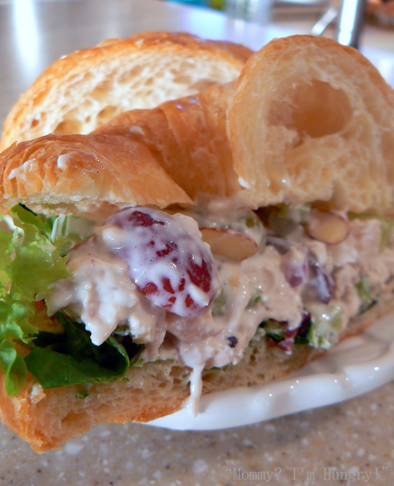 MIH Recipe Blog: Mom's Chicken Salad With Grapes On Croissants