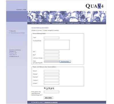 www.quavier.ch – aufgefrischte Website