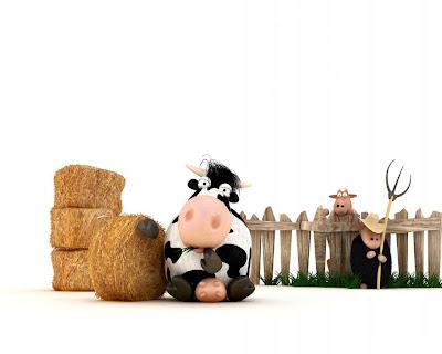 wallpaper crazy. Funny Farm - Crazy 3D Animals