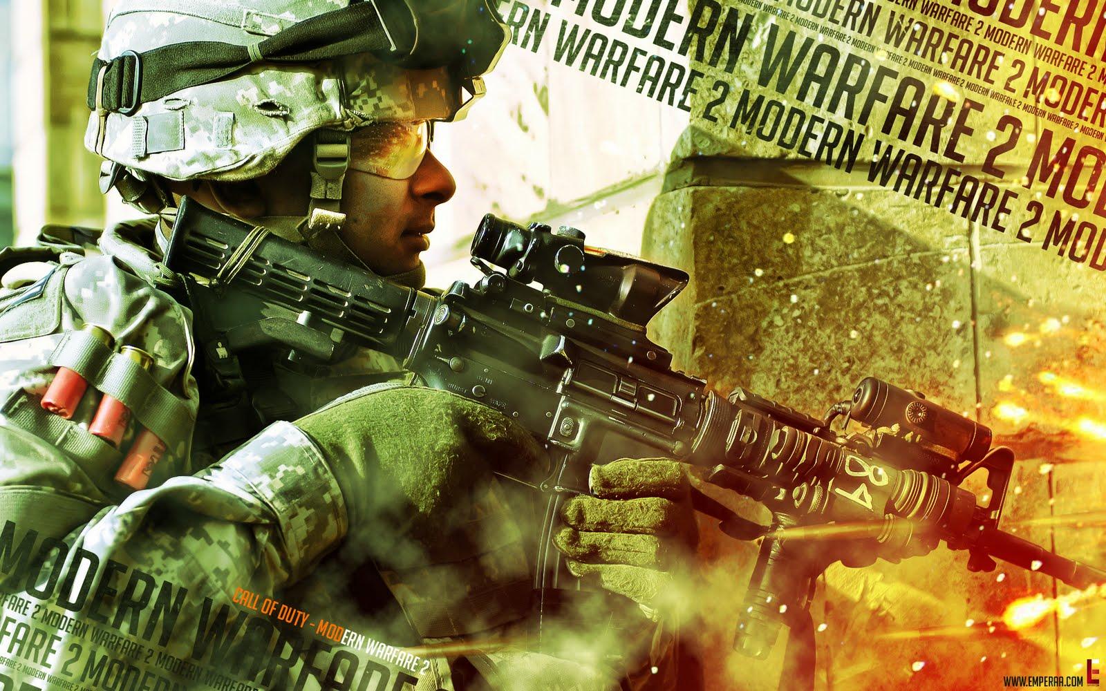Call of Duty: Modern Warfare 2 - Ghost IG HD Wallpaper