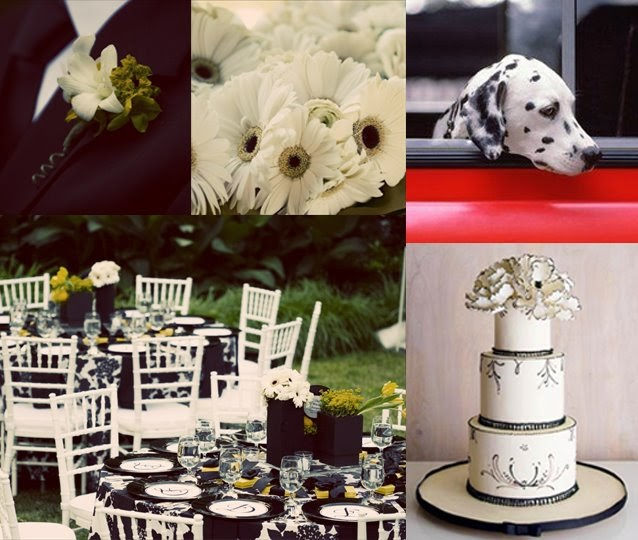 Melissa's Smitten: Inspiration Board 31: Firefighter Wedding