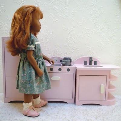 Sasha Sasha Sasha Pbk Doll Kitchen
