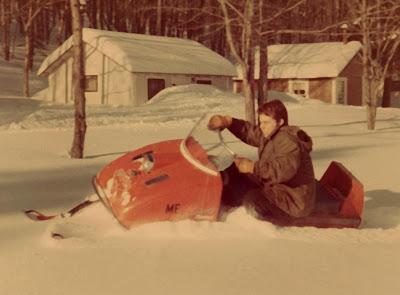 David Crews Vintage snowmobile photos 2