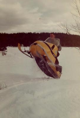 Davod Crews Vintage Snowmobile 1