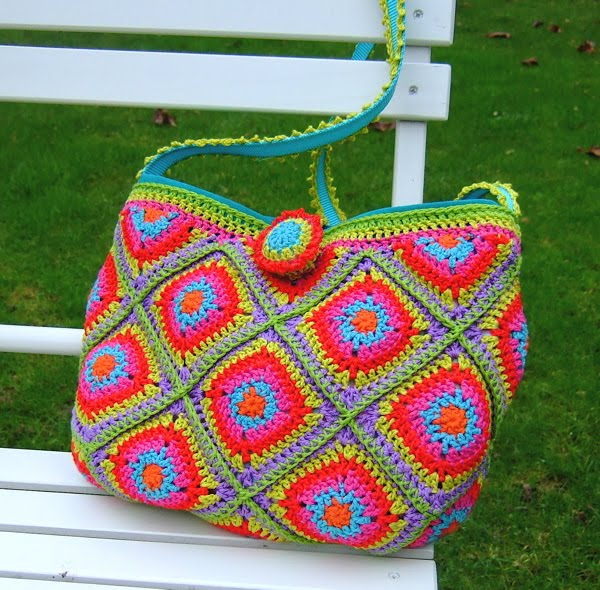 Be Pretty By Beate Granny Squares Tasche Holly