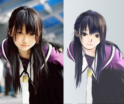 Cosplay Penampilan Mirip Tokoh Anime anehdidunia.com