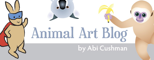 Animal Art Blog by Abi Cushman