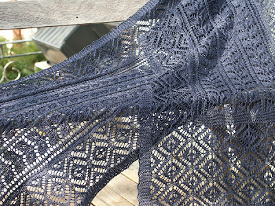 Free Knitting Pattern - Diamond Dish Scarf from the Scarves Free