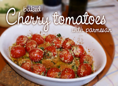 Fran's House of Ayurveda: RECIPE ~ Baked Cherry Tomatoes with Parmesan
