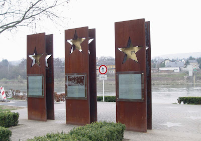 Układ z Schengen, rzeka Mozela w okolicy Schengen w Luksemburgu