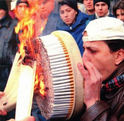 :: no award for smokers.. ::