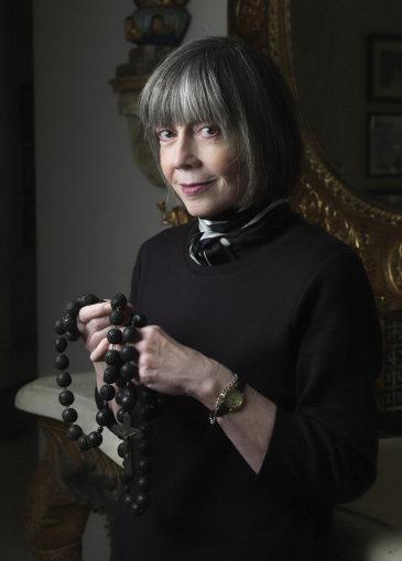anne+rice+en+su+rancho+californiano+el+2007 20 grandes escritoras norteamericanas contemporáneas te dan consejos para escribir