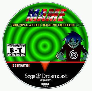Sega Dreamcast Games: MAME Emulator (custom)