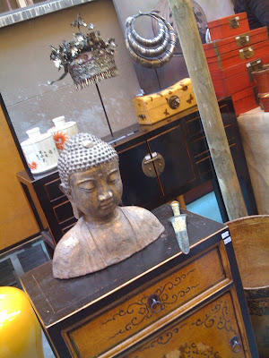 decoración, muebles, antiguedades, mercadillo