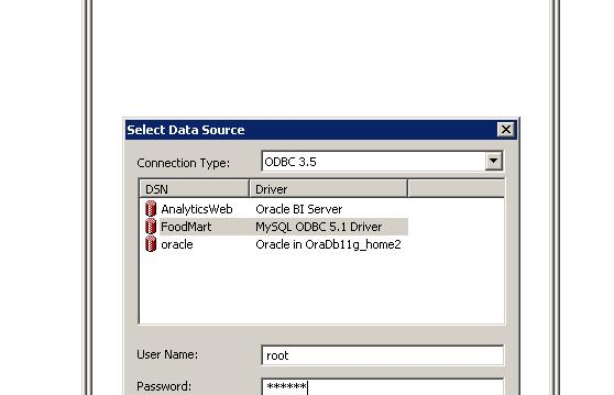 OBIEE – Creating an OBIEE repository and importing a physical schema