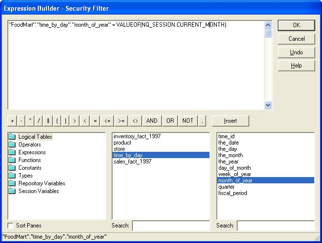 OBIEE – Session variables and row level security – StudyTrails