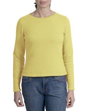 [L290_Yellow+ladies+sueded+crew+sweatshirt.jpg]