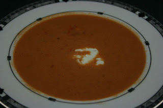Restaurant Quality Tomato Soup -- I don't even like tomato soup and I couldn't stop eating this! Rich, velvety, deliciousness!!