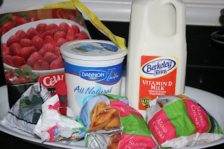 ingredients for crock pot yogurt