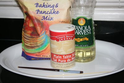 simple gluten free salt dough ingredients