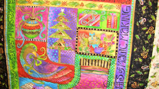 Bountiful Blessings quilt, quilted by Angela Huffman