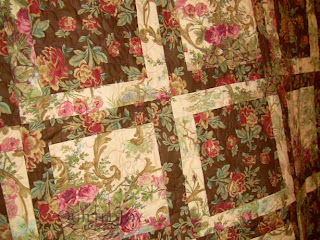 Sondra's Mark Lipinski quilt, quilted by Angela Huffman