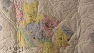 Jen's Baby Quilt, quilted by Angela Huffman