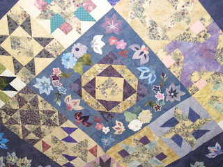 Purple Beauty on the Design Board - QuiltedJoy.com