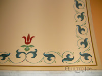 Is this a border design for a quilt or the ceiling of Union Station? The answer: both! - QuiltedJoy.com
