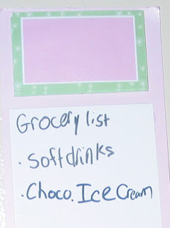When kids make the grocery list… - QuiltedJoy.com