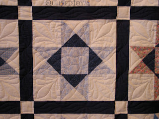 Columbus Ohio Star Block Original Quilting Design by Angela Huffman - QuiltedJoy.com
