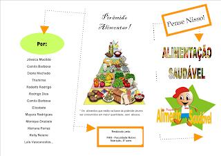 alimentação saudável pirâmide alimentar