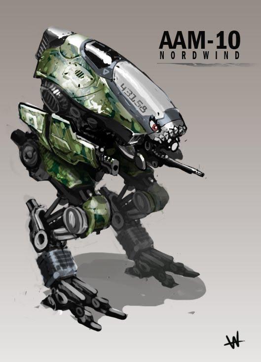 Artnauts Of Glory Armoured Assault Mech 10 Quot Nordwind Quot