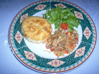 Fry bake and saltfish recipe, simply trini cooking