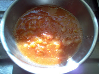 Tomato Choka: Method 1
