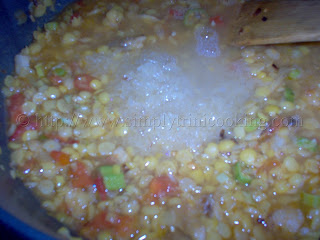 Split Peas Rice