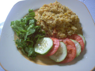 Split Peas Rice, Trinidad and Tobago