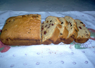 Eggless Coconut Sweet Bread