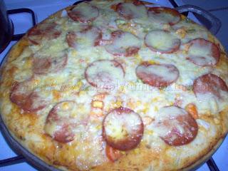 Trini Herb Crust Pizza
