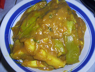 curry mango