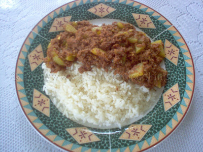 curry corned beef and rice