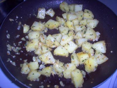 Trini Herbed Potatoes