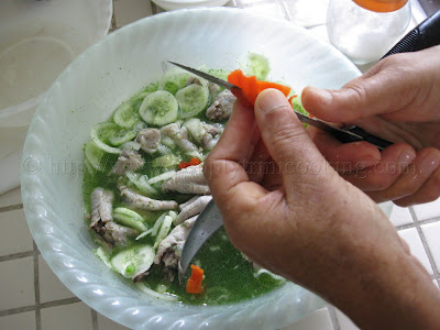 Chicken Foot Souse