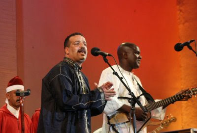 Ismael Lo and the Hamadcha perform at The Fez Festival