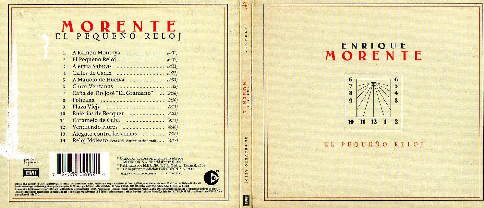 Morenteel Pequeño La Hasta Última NotaEnrique Reloj2003 Ow8PkXn0