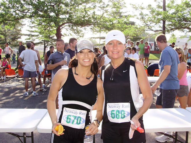 Kelly & I After the Seaway Run 5k